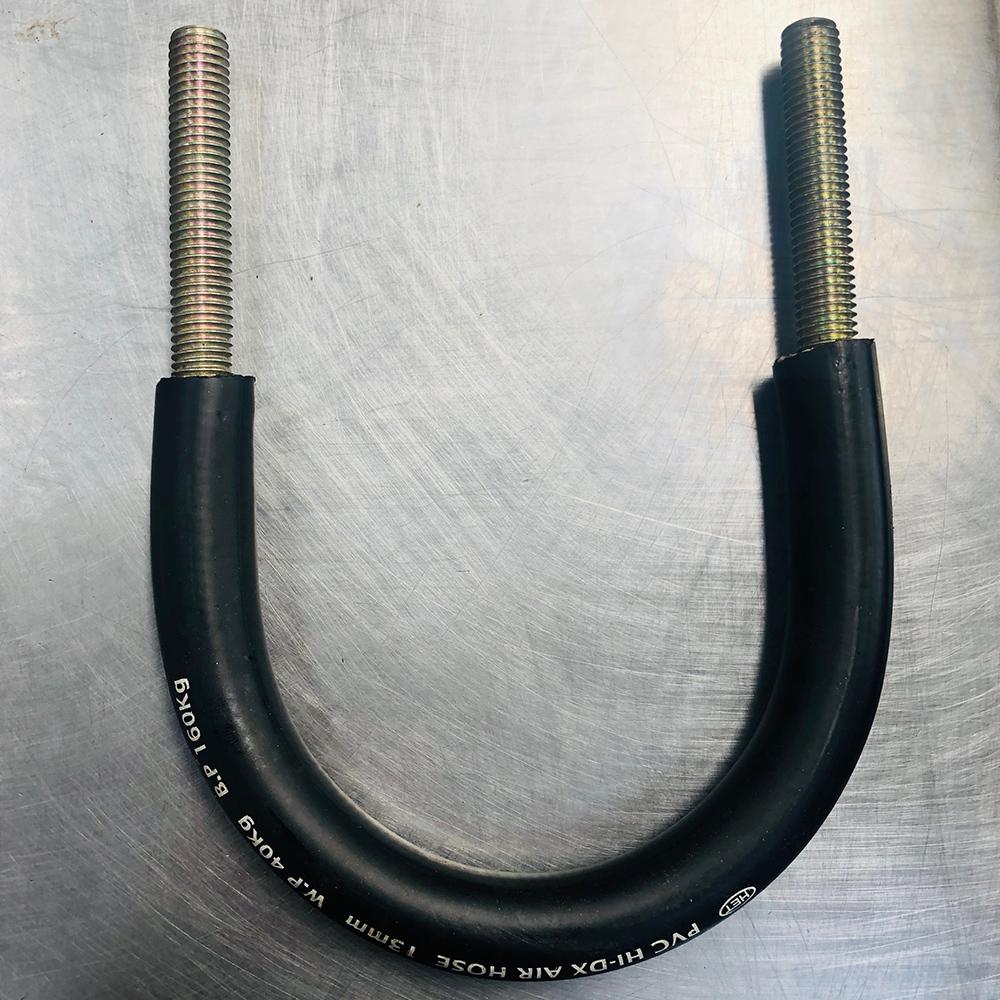 氯丁橡胶覆层U型螺栓 -30℃-100℃