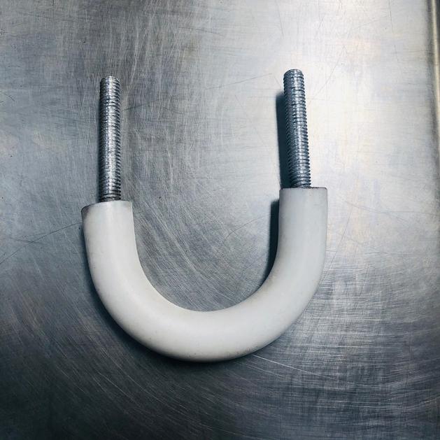 PTFE护层U型螺栓耐受温度-70℃-150℃